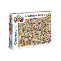 Clementoni 1000 db-os puzzle - A lehetetlen puzzle - Disney - Tsum Tsum