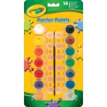 Crayola tempera - színes, lemosható, tégelyes