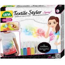 LENA: Ruhatervező textil spray-vel