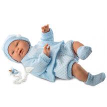 Llorens csecsemő kék ruhában