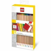 LEGO 12 darabos ceruzakészlet ceruzadísszel