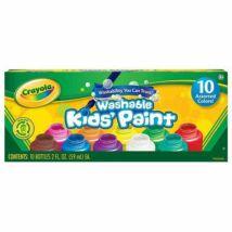 Crayola lemosható festék - 10 színben