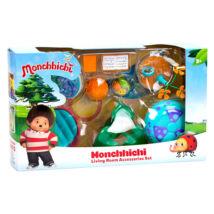 Monchhichi: nappali játékszett - több színben