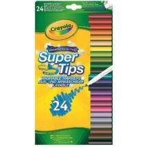 Crayola: 24 db kimosható vékony filctoll
