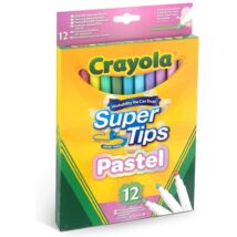 Crayola Super Tips filc - pasztell (12 db)