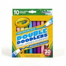 Crayola Dupla tarka filcek