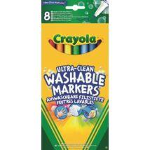 Crayola: Extra-kimosható vékony filctoll 8 db