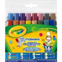 Crayola: különleges hegyű mintázófilc 16 db-os