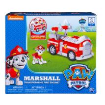 Mancs őrjárat: Marshall átalakuló tűzoltóautója figurával dobozban