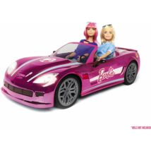 Barbie rózsaszín álomautó