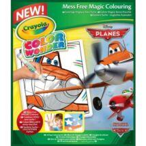 Crayola Color Wonder Maszatmentes kifestő füzet - Repcsik