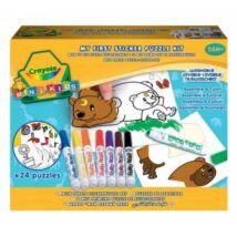 Crayola Matricás puzzle kicsiknek