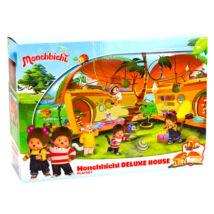 Monchhichi: ház deluxe játékszett