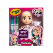Crayola: Colour n Style Friends - Lavender