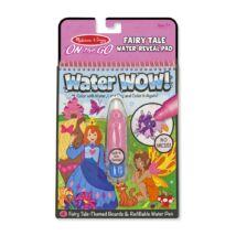 Melissa & Doug Kreatív játék, Rajzolás vízzel, tündérek