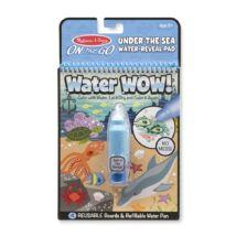 Melissa & Doug Kreatív játék, Rajzolás vízzel, tenger