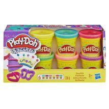 Play Doh Csillámló Gyurma Készlet