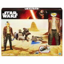 Star Wars figura járművel - Poe Dameron