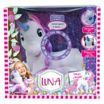 Luna mesélő plüss unikornis