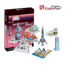 3D puzzle Világhírű épületek #2 (143 db-os)