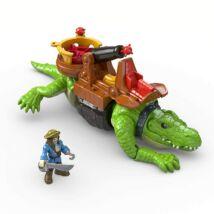 Imaginext: sétáló krokodil és Hook kapitány