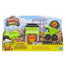 Play-Doh: Kerekek - Munkagépek gyurmaszett
