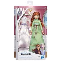 Disney hercegnők: Jégvarázs 2 Anna baba csere ruhával - 28 cm