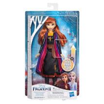 Disney hercegnők Jégvarázs II: Anna baba világító ruhában