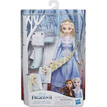 Hasbro Jégvarázs 2: Elsa baba hajfonó géppel