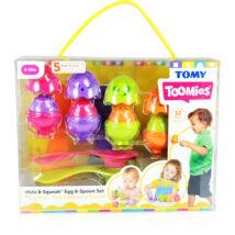 Tomy Toomies: Kukucska meglepetéstojáskák kanálon