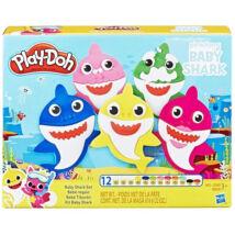 Play-Doh: Baby Shark gyurma szett
