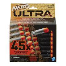 Nerf Ultra 45 db-os habszivacs lövedék készlet