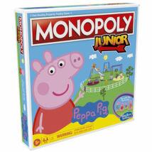 Hasbro Peppa malac Monopoly junior társasjáték - magyar nyelvű