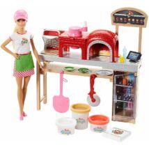 Barbie: Pizza készítő szett