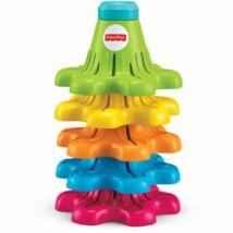 Fisher-Price: Pörgő-forgó színes kúpok