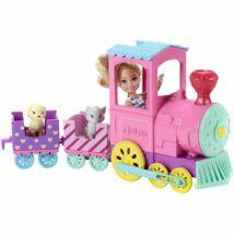 Barbie - Chelsea baba vonattal