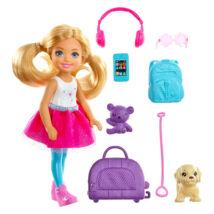 Barbie Dreamhouse: világjáró Chelsea kiskutyával és kiegészítőkkel