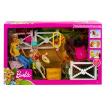 Barbie: lovarda játékszett