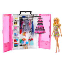 Barbie Fashionistas: ruhásszekrény babával
