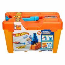 Hot Wheels Track Builder pohárdaráló hordozható játékdoboz