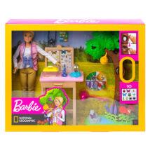 Barbie National Geographic: lepkekutató játékszett