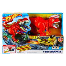 Hot Wheels: T-Rex zúzó pályaszett