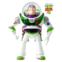 Toy Story 4: Buzz Lightyear interaktív figura - 18 cm