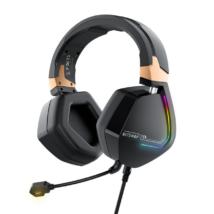 BlitzWolf® BW-GH2: 7.1 gamer fejhallgató RGB leddel (3.5 Jack)