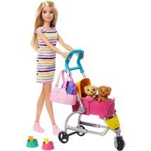 Barbie Kutyus sétáltató szett