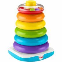 Fisher Price: Óriás színes gyűrűpiramis