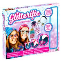 Glitterific: csillám és csillámszívó szett