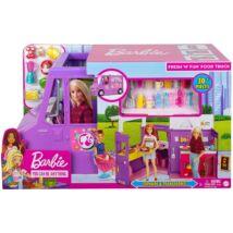Barbie: Street Food büfékocsi babával