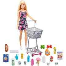 Barbie: Nagybevásárlás játékszett