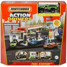 Matchbox: Action Drivers Benzinkút játékszett